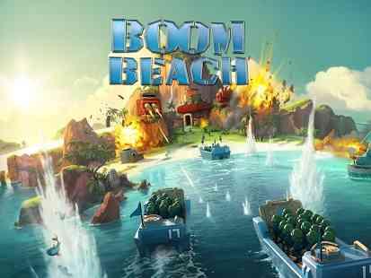 Boom Beach   بازی استراتژیکی انلاین ساحل بوم