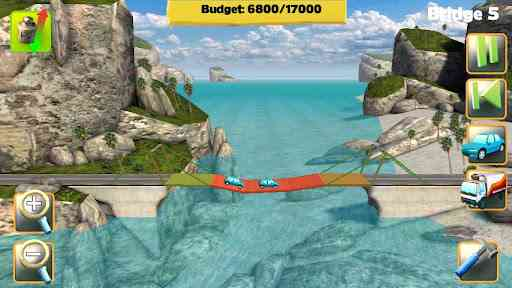 Bridge Constructor - بازی جذاب پل سازی