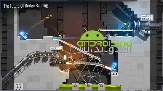 Bridge Constructor Portal - بازی پرتال سازنده پل