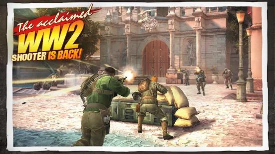 دانلود Brothers in Arms 3 v1.4.5f بازی سرباز جهانی 3 اندروید 1