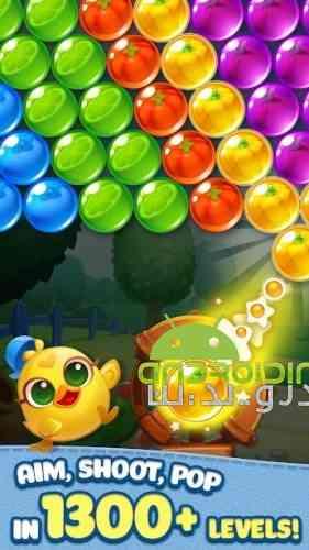 Bubble CoCo: Color Match Bubble Shooter - بازی پازلی حباب های رنگی مرغی