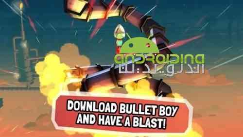 Bullet Boy - بازی آرکید پسر گلوله ای