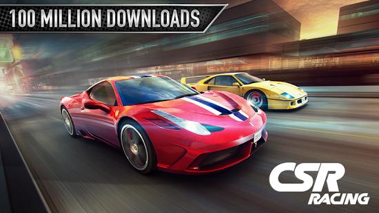 دانلود CSR Racing  بازی زیبای اتومبیل رانی اندروید