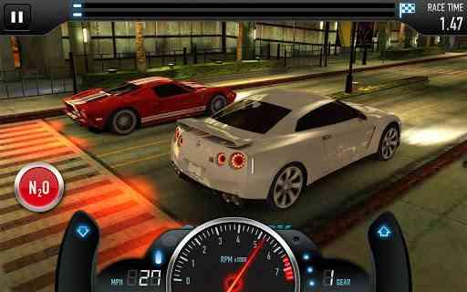 CSR Racing | بازی زیبای اتومبیل رانی