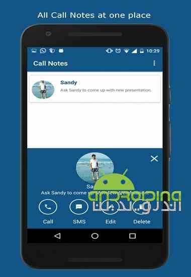 دانلود Call Notes – Don't forget what to say 1.0.1 نرم افزار یادداشت تماس برای اندروید 2