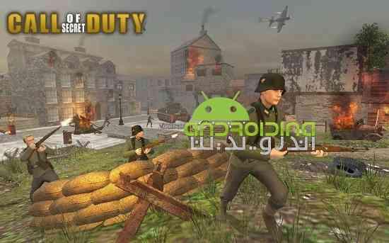 Call of Secret Duty WWII: FPS Final Battle - بازی اکشن ندای وظیفه مخفی