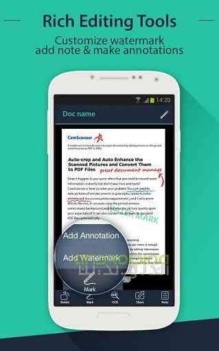 دانلود CamScanner  Phone PDF Creator v3.5.0.20140721 اسکن متنها به کمک دوربین