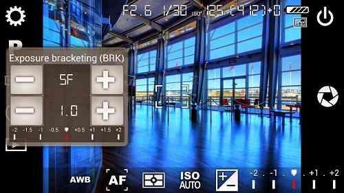 Camera FV-5 | عکسبرداری حرفه ای