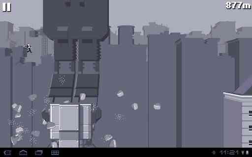 دانلود بازی بسیار جالب و قشنگ Canabalt HD v2.11 مخصوص اندروید