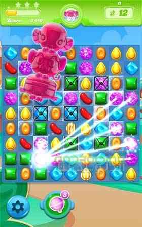 دانلود Candy Crush Jelly Saga 1.46.8 بازی پازل اب نبات ها اندروید 1