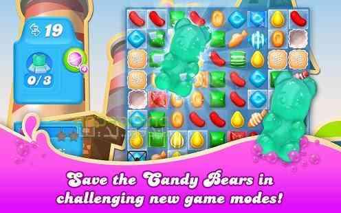 دانلود Candy Crush Soda Saga 1.92.9 بازی شکستن آبنباته اندروید 3
