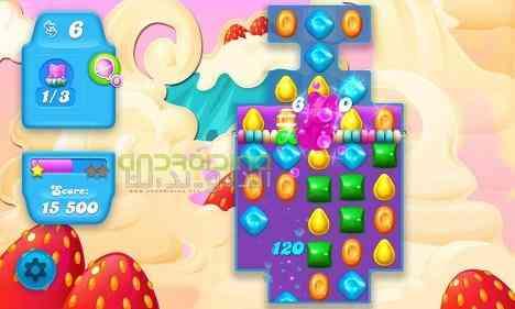 Candy Crush Soda Saga | بازی شکستن آبنباتها