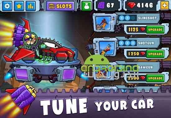 Car Eats Car 2 - بازی مسابقه ای ماشین خوردن ماشین 2