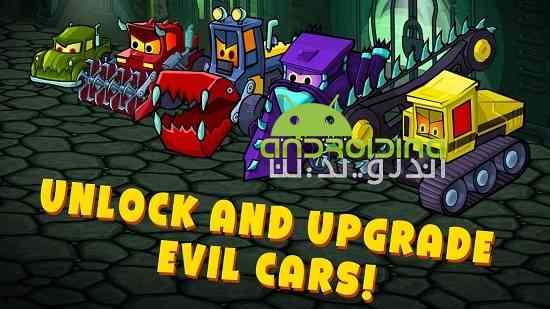Car Eats Car 3 – Evil Cars - بازی برخورد اتومبیل با اتومبیل 3