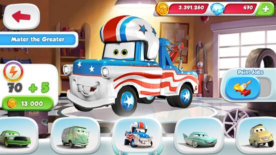 دانلود Cars: Fast as Lightning  بازی ماشین ها برای اندروید
