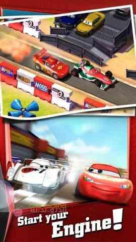 دانلود Cars Fast as Lightning 1.3.4d بازی ماشین ها اندروید 4