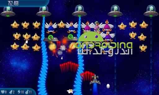 دنلود Chicken Invaders 5 v1.12ggl سری پنجم بازی مرغ های فضایی 2