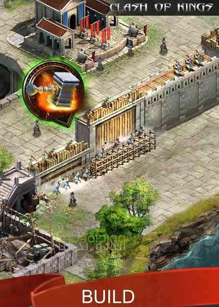 دانلود Clash Of Kings 2.47.0 بازی انلاین جنگ پادشاهان اندروید 1