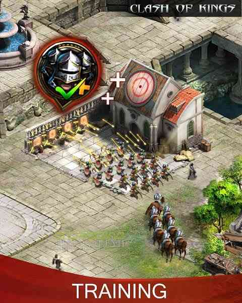 دانلود Clash Of Kings 2.47.0 بازی انلاین جنگ پادشاهان اندروید 2