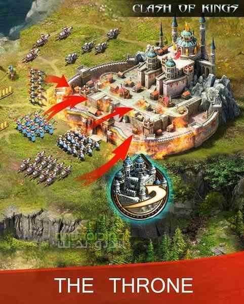 دانلود Clash Of Kings 2.47.0 بازی انلاین جنگ پادشاهان اندروید 3