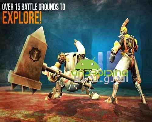 دانلود Clash Of Robots 2.7 بازی اکشن مبارزه ربات ها برای اندروید 3