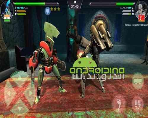 دانلود Clash Of Robots 2.7 بازی اکشن مبارزه ربات ها برای اندروید 4