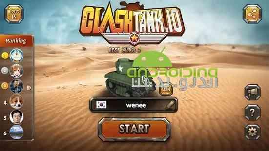 Clash Tank - بازی اکشن برخورد تانک