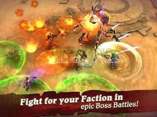 دانلود Clash for Dawn 1.6.3 بازی انلاین نقش آفرینی نبرد برای پیروزی اندروید 1