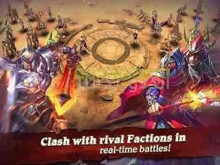 دانلود Clash for Dawn 1.6.3 بازی انلاین نقش آفرینی نبرد برای پیروزی اندروید 2