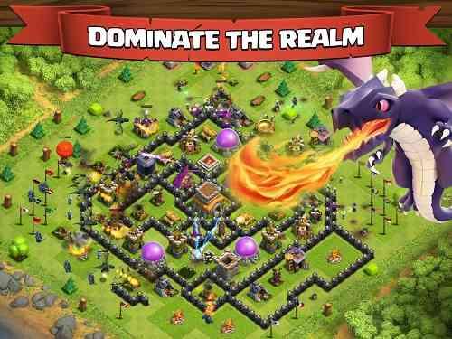 Clash of Clans | بازی استراتژیکی انلاین برخورد قبیله