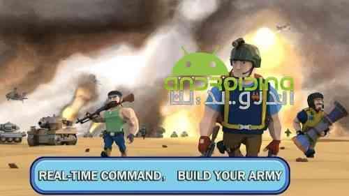 Commander At War- Battle With Friends Online - بازی فرمانده در جنگ - نبرد با دوستان آنلاین