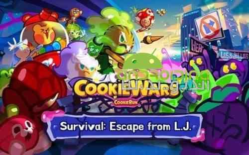 Cookie Wars - بازی جنگ شیرینی ها