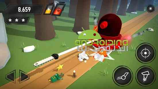 Crashbots - بازی سرگرم کننده اکشن رباتهای تصادفی
