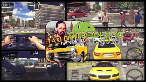 Crazy Open World Driver – Taxi Simulator - بازی رانندگی دیوانه وار در جهان باز