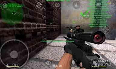 بازی بسیار زیبای مبارزه ای کانتر استریک Critical Strike Portable v2.440 1
