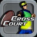 بازی زیبای تنیس اندروید Cross Court Tennis v2.1 paid