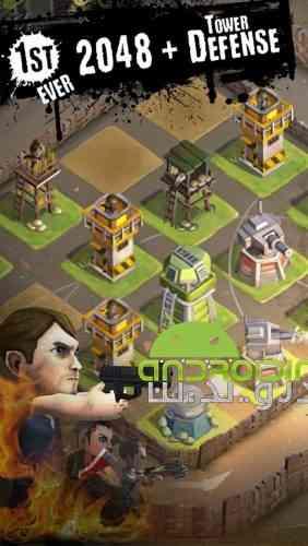DEAD 2048 - بازی سرگرم کننده پازلی مرگ 2048