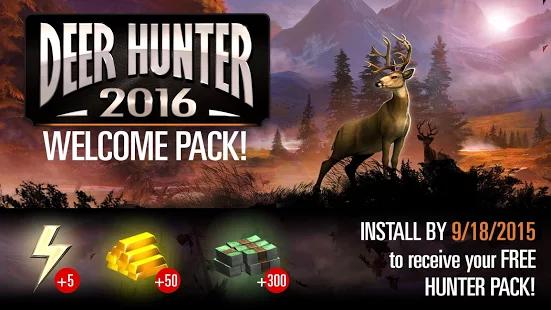 دانلود Deer Hunter 2017 4.2.0 بازی شکار حیوانات 2017 اندروید 2