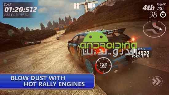 دانلود DRIVELINE : Rally 1.03 بازی مسابقه ای خط رانندگی اندروید 3