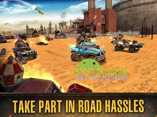 Dead Paradise: The Road Warrior - بازی بهشت مرده: جنگجوی جاده
