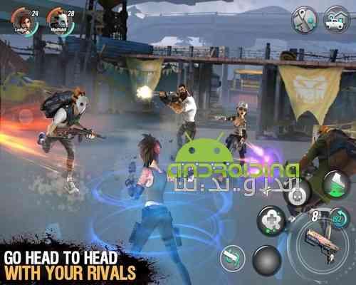 دانلود 0.2.5 Dead Rivals – Zombie MMO بازی فوق العاده رقیبان مرده برای اندروید 3