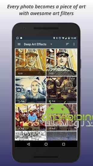 دانلود Deep Art Effects Photo Filter PRO 1.4.0 تبدیل عکس ها به نقاشی 2