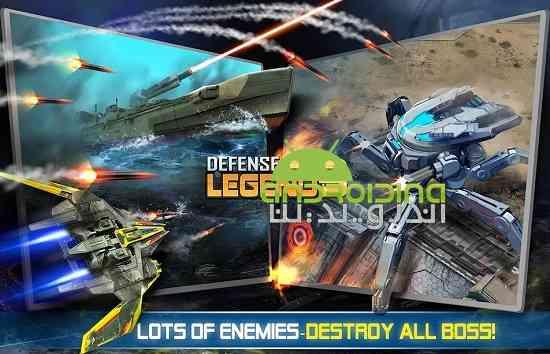 Defense Legend 3: Future War - بازی افسانه دفاع 3: جنگ آینده