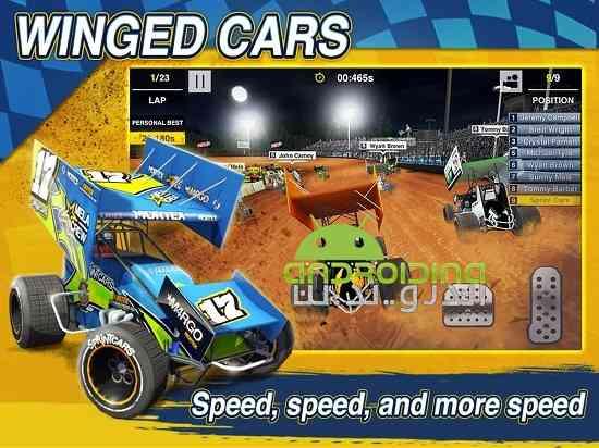 Dirt Trackin Sprint Cars - بازی سرعت بالا در خاک