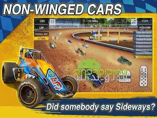 دانلود Dirt Trackin Sprint Cars 1.0.4 بازی سرعت بالا در خاک اندروید 2