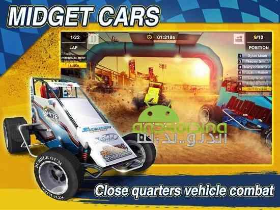 دانلود Dirt Trackin Sprint Cars 1.0.4 بازی سرعت بالا در خاک اندروید 3