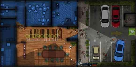 دانلود Door Kickers 1.0.70 بازی سرباز های پیاده نظام اندروید 1