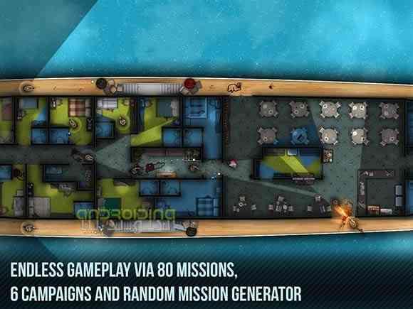 دانلود Door Kickers 1.0.70 بازی سرباز های پیاده نظام اندروید 3