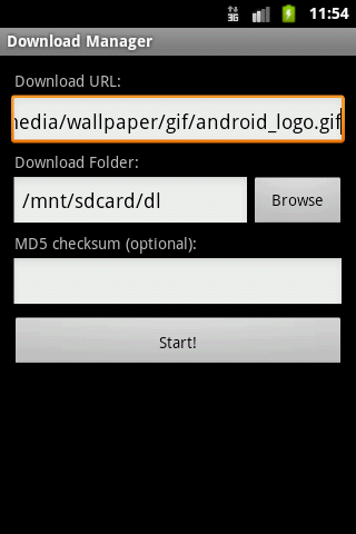 Download Manager for Android v2.5.0 ابزار قدرتمند مدیریت دانلودها در اندروید 2