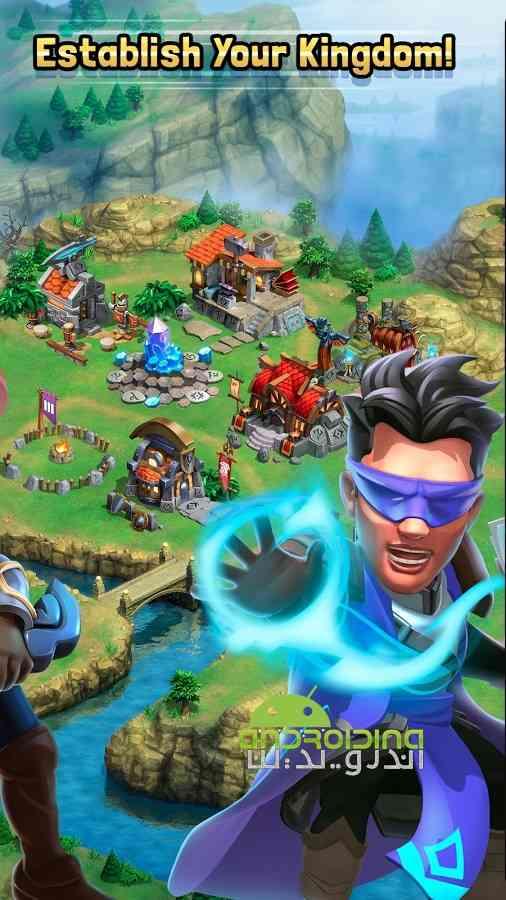 دانلود Dragonstone: Kingdoms 1.1.7 بازی سنگ اژدها: پادشاهی اندروید 2